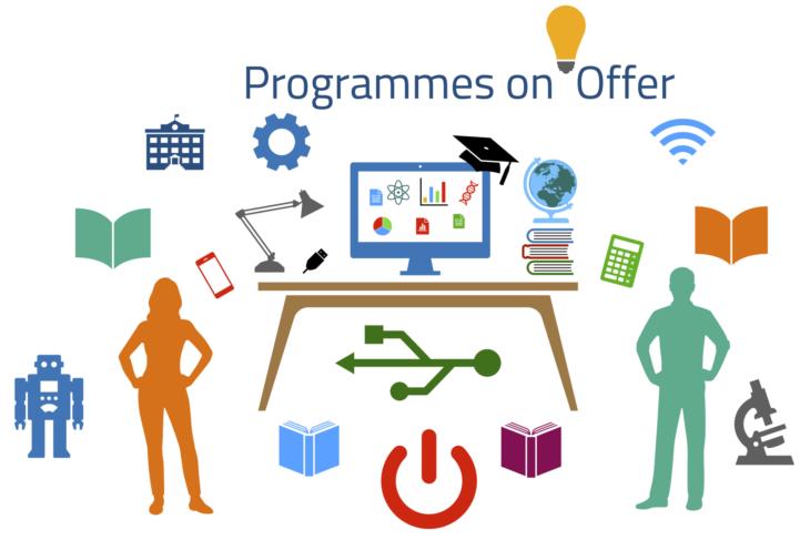 Programmes on offer